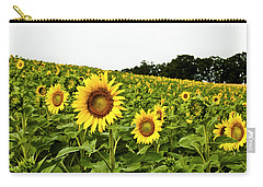 Sunflowers On A Hill Carry-all Pouch