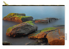 Sunkissed Rocks Carry-all Pouch by Jacqui Boonstra