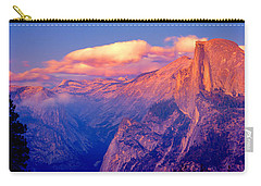 Sunlight Falling On A Mountain, Half Carry-all Pouch by Panoramic Images