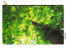 Sunlit Leaves Carry-all Pouch by Lars Lentz