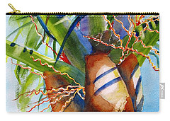 Sunlit Palm Carry-all Pouch by Carlin Blahnik