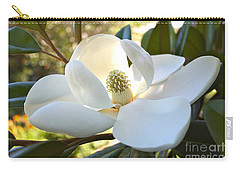 Sunlit Southern Magnolia Carry-all Pouch
