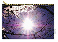 Carry-all Pouch featuring the photograph Sunny Afternoon by Sherman Perry