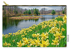 Sunny Daffodil Carry-all Pouch by Bill Wakeley