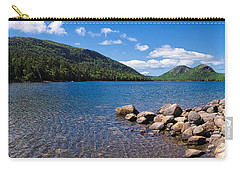 Sunny Day On Jordan Pond   Carry-all Pouch by Lars Lentz