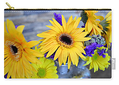 Carry-all Pouch featuring the photograph Sunny Days by Ally  White