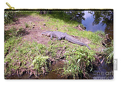Sunny Gator  Carry-all Pouch