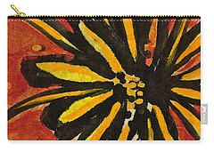 Carry-all Pouch featuring the painting Sunny Hues Watercolor by Joan Reese