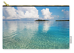 Sunny Invitation For  You. Maldives Carry-all Pouch