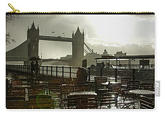 Sunny Rainstorm In London - England Carry-all Pouch