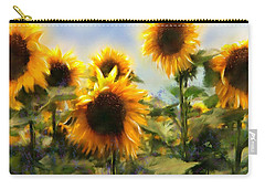 Sunny-side Up Carry-all Pouch by Colleen Taylor