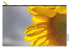 Sunny Sunflower Carry-all Pouch by Cheryl Baxter