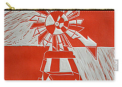 Sunny Windmill Carry-all Pouch