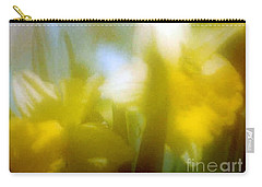 Carry-all Pouch featuring the photograph Sunny Yellow Daffodils by Michael Hoard