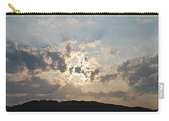 Carry-all Pouch featuring the photograph Sunrise 1 by George Katechis