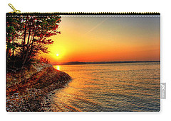 Sunrise Around The Bend Carry-all Pouch