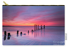 Sunrise At Deal Nj Carry-all Pouch by Michael Ver Sprill