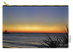 Sunrise At Folly Carry-all Pouch