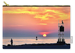 Sunrise At Indian River Inlet Carry-all Pouch