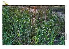 Carry-all Pouch featuring the photograph Sunrise At Myrtle Beach by Alex Grichenko
