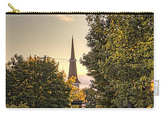 Sunrise At The End Of The Street Carry-all Pouch by Daniel Sheldon