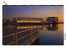Sunrise At The Lakefront Carry-all Pouch by Jonah  Anderson
