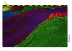 Carry-all Pouch featuring the painting Sunrise Castle By Jrr by First Star Art