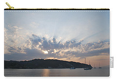 Carry-all Pouch featuring the photograph Sunrise by George Katechis