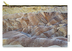 Sunrise In Death Valley Carry-all Pouch by Juli Scalzi