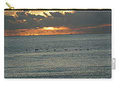 Carry-all Pouch featuring the photograph Sunrise In Florida Riviera by Rafael Salazar