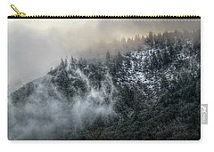 Carry-all Pouch featuring the photograph Sunrise In The Clouds by Melanie Lankford Photography