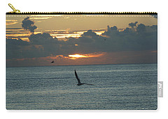 Carry-all Pouch featuring the photograph Sunrise In The Florida Riviera by Rafael Salazar
