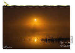 Sunrise In The Fog Carry-all Pouch