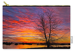 Sunrise In The Sacramento Valley Carry-all Pouch