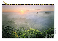 Sunrise In Tikal Carry-all Pouch