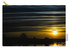 Carry-all Pouch featuring the photograph Sunrise In Virginia by Angela DeFrias