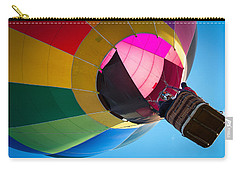 Carry-all Pouch featuring the photograph Sunrise Launch by Patrice Zinck