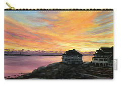 Sunrise Long Beach Rockport Ma Carry-all Pouch