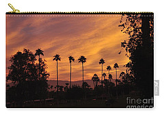Sunrise Looking East Towards Mecca Carry-all Pouch by Jay Milo