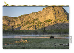 Sunrise Mt. Hayes Yellowstone National Park Carry-all Pouch