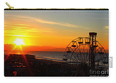 Sunrise Ocean City Boardwalk Carry-all Pouch