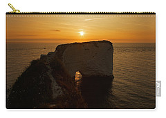 Sunrise Old Harry Rocks Carry-all Pouch