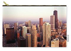 Sunrise On Chicago Carry-all Pouch by Jon Neidert