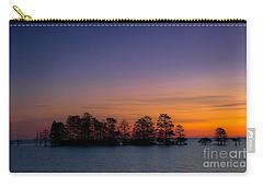 Sunrise On Lake Mattamuskeet Carry-all Pouch