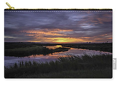 Sunrise On Lake Shelby Carry-all Pouch