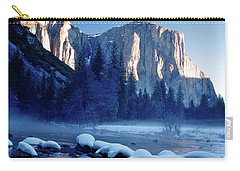 Sunrise On El Capitan Yosemite National Park Carry-all Pouch