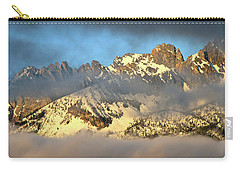 Sunrise On Thompson Peak Carry-all Pouch by Ed  Riche