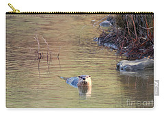 Sunrise Otter Carry-all Pouch by Mike Dawson