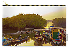 Sunrise Over Gambian Creek Carry-all Pouch by Tony Murtagh