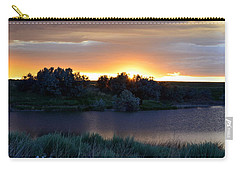 Sunrise Over Kinney Lake Carry-all Pouch